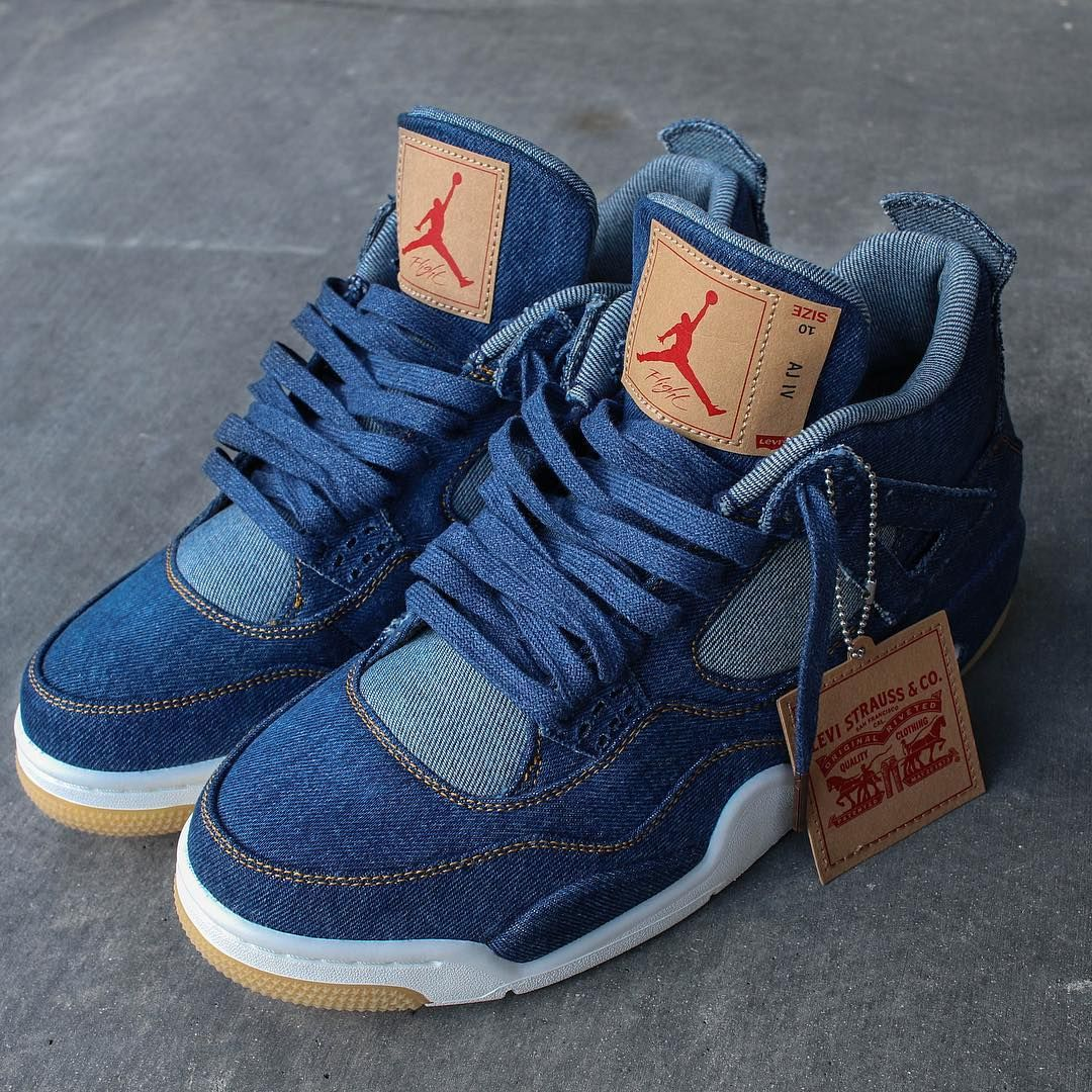 brand new 828b0 02ede Levis Air Jordan 4