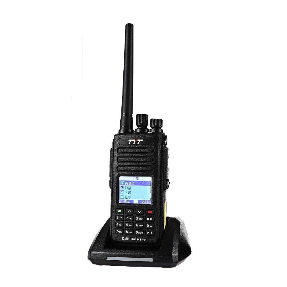 Handheld transceiver two way radio dmr digital walkie