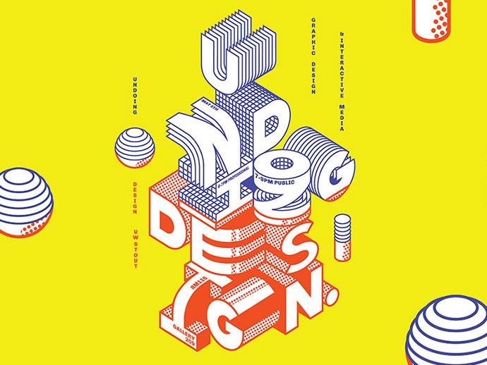 40 Inspiring Typography Designs 2017 – Bashooka #3dtypography