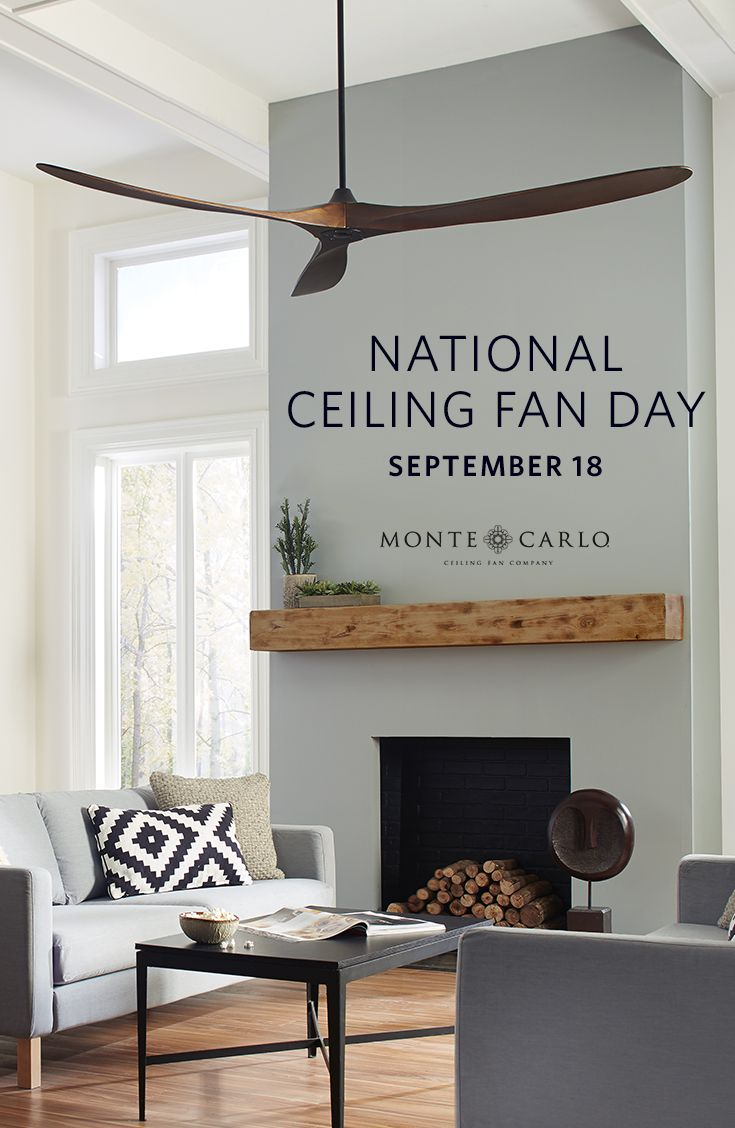used ceiling fans five did you know today is nationalceilingfanday if all americans turned off their air conditioner
