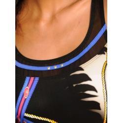 Photo of Sunflair, Badeanzug mit Netzblende, schwarz Sunflair