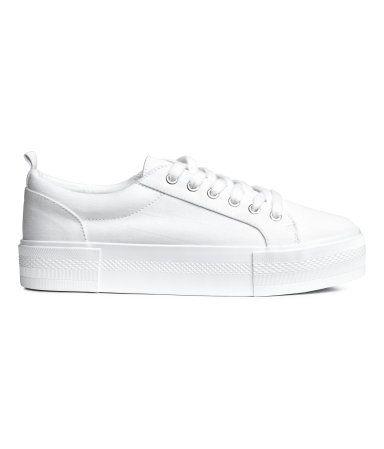 amp;m Shoes Mx Zapatos Mujer Zapatillas Deportivas H Blanco w6qnI7YS1