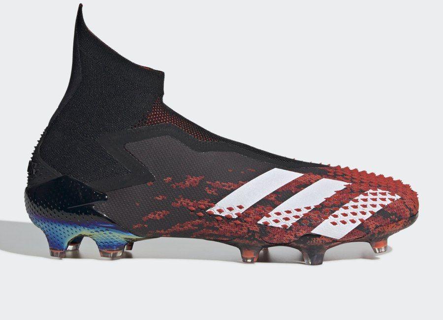 Adidas Predator 20 Fg Mutator Core Black Cloud White Active Red Adidasfootball Footballboots Adida In 2020 Football Boots Adidas Outfit Shoes Adidas Predator