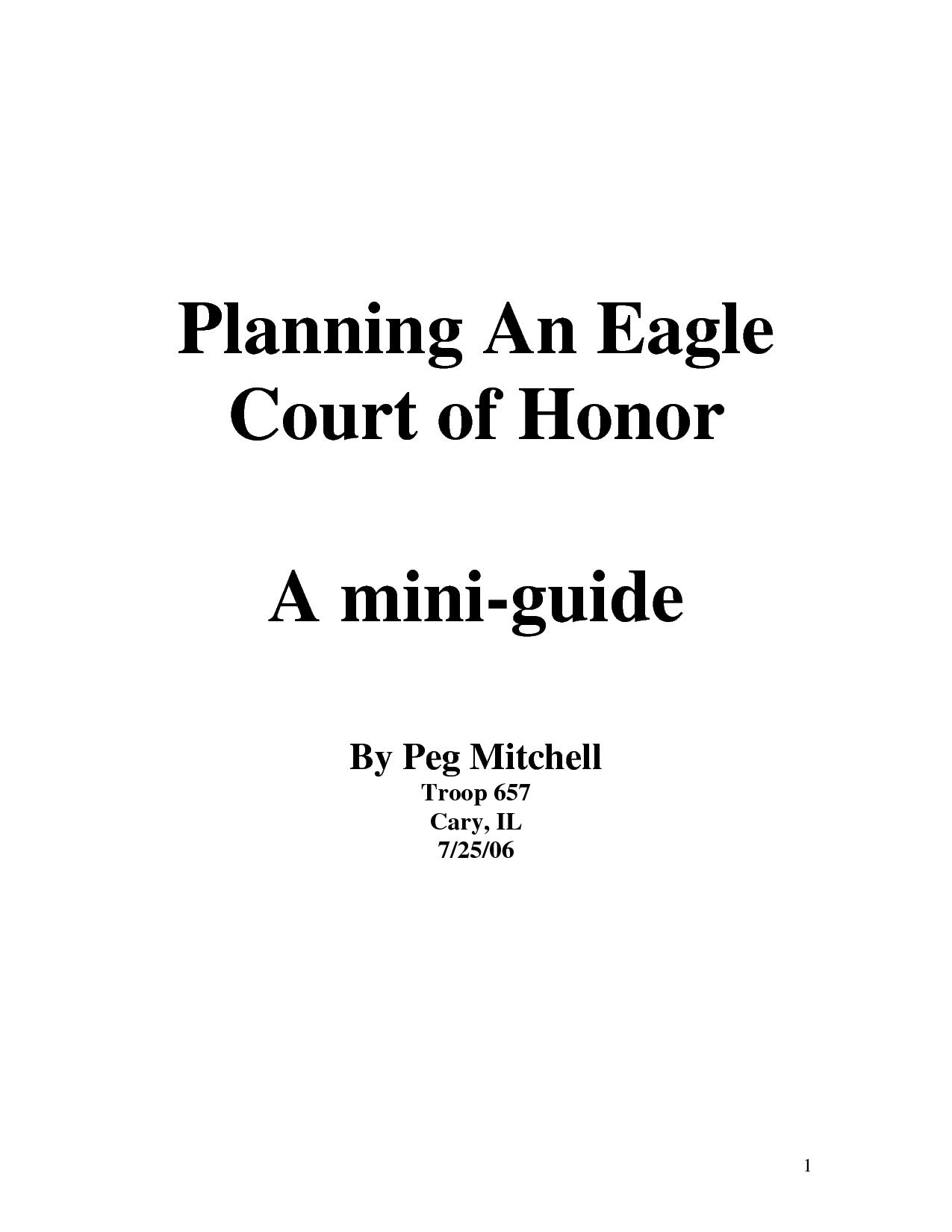 Eagle Scout Announcements Invitations