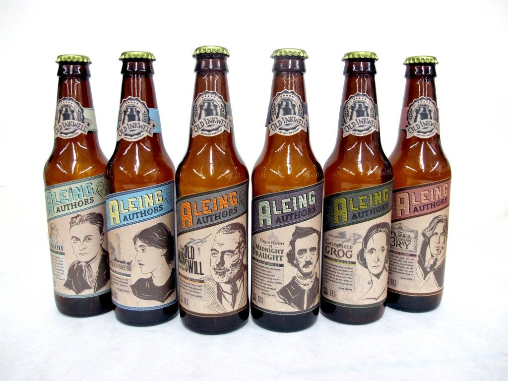 Aleing Authors Craft Beer Series (Student Project) | Beer and ...
