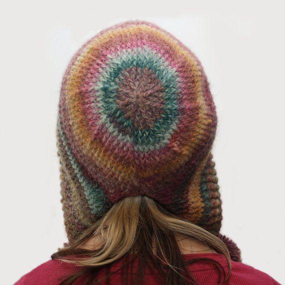 Simple Pompom Hood Crochet Pattern PDF INSTANT от knotsewcute