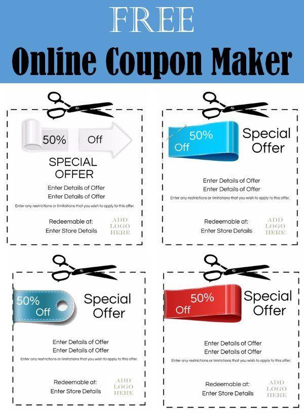 coupon maker tea coupun pinterest coupons and teas