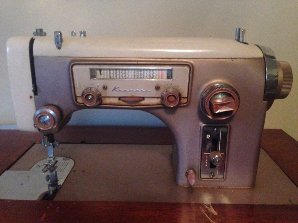 RARE Vintage Lady Kenmore 516.891 Sewing Machine and ...