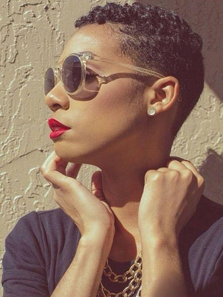 10+ Coiffure garconne pour femme noire idees en 2021