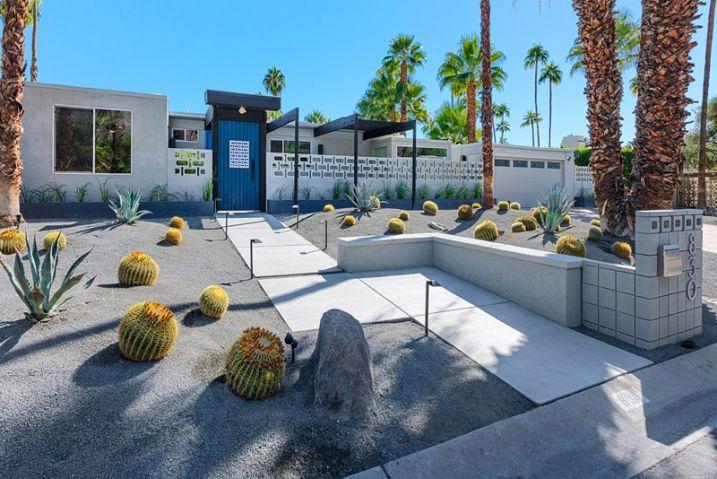 Créer un jardin avec des cactus et des palmiers Front yards and - creer une maison en 3d