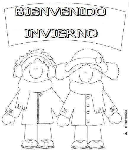 Mi Mundo Infantil Carteles De Invierno Actividades De Invierno Para Ninos Invierno Preescolar Dibujos De Invierno