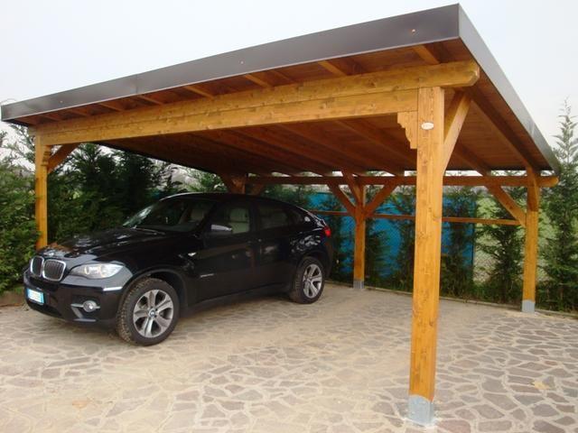 Cobertizos de madera construcci n y dise o porches for Cobertizo de jardin moderno de techo plano