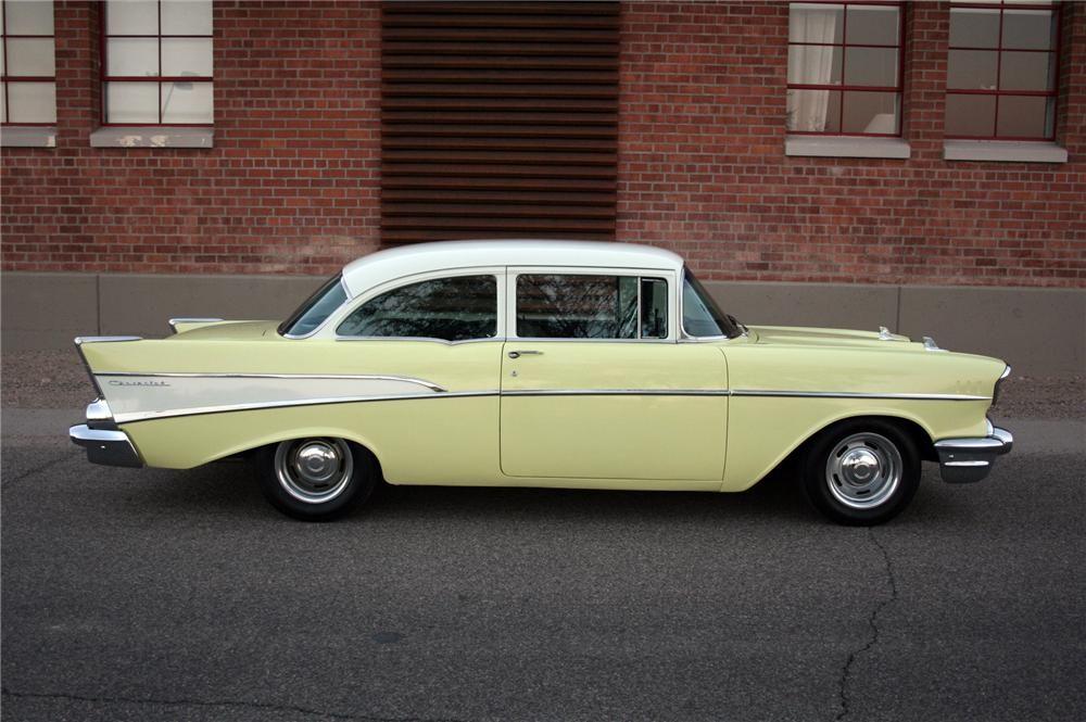 1957 Chevrolet 210 2 Door Sedan 116250 1957 Chevrolet Chevrolet Sedan