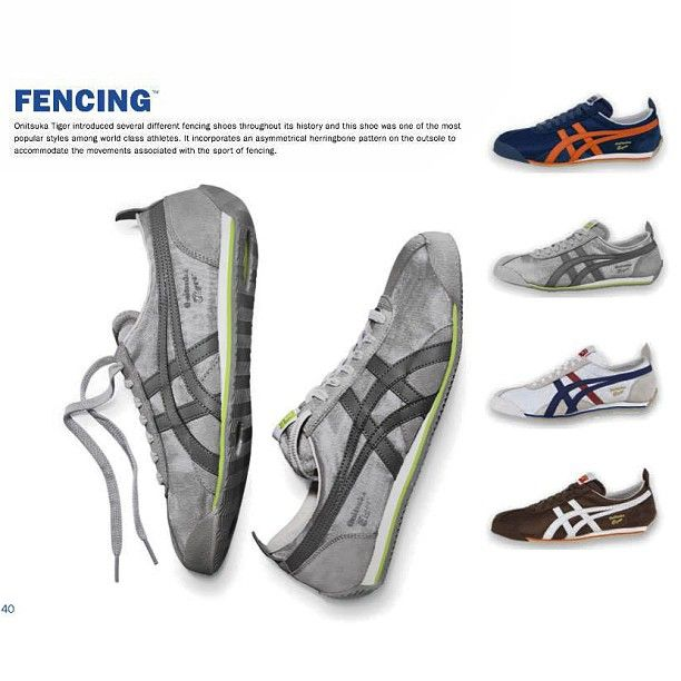 latest design low price sale half off OnitsukaTiger has introduced several different #FENCING #shoes ...