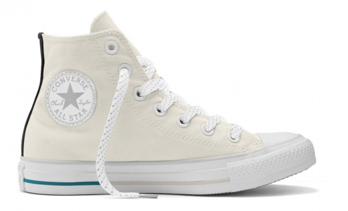 c13be07b02ef Chuck Taylor All Star Shield Canvas High Top Buff Aqua White ...