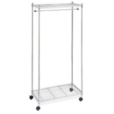 Home Depot Garment Rack Gorgeous Whitmor Supreme Shelving Collection 60 In X 6060 In Supreme