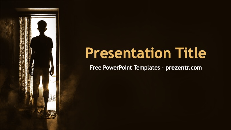 Free Horror Powerpoint Template Prezentr Ppt Templates Powerpoint Templates Templates Powerpoint