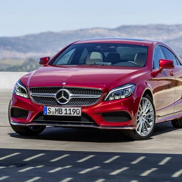 Taut, muscular and refined, this is the new 2015 CLS-Class. #mercedes #benz #cls #instacar