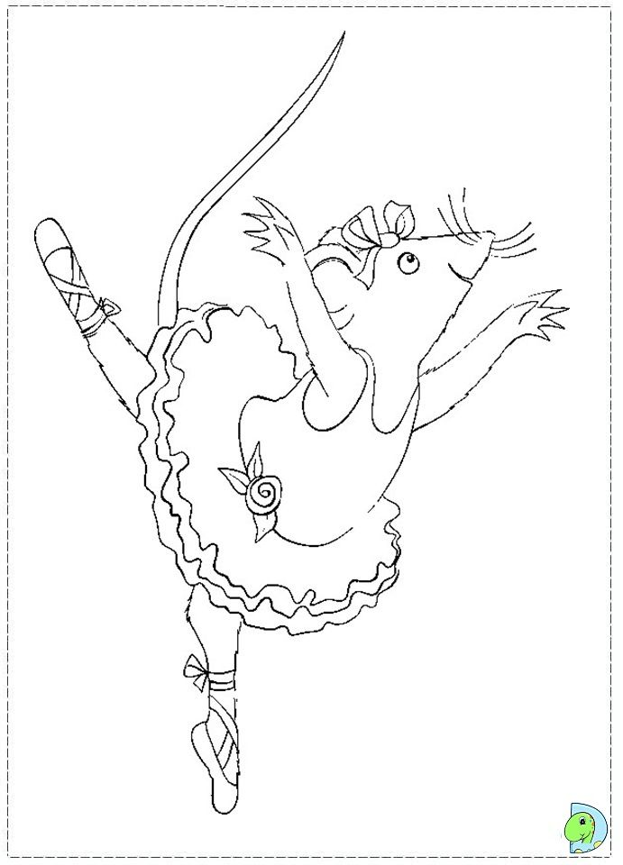Angelina Ballerina Coloring Pages Http Azcoloring Com Angelina
