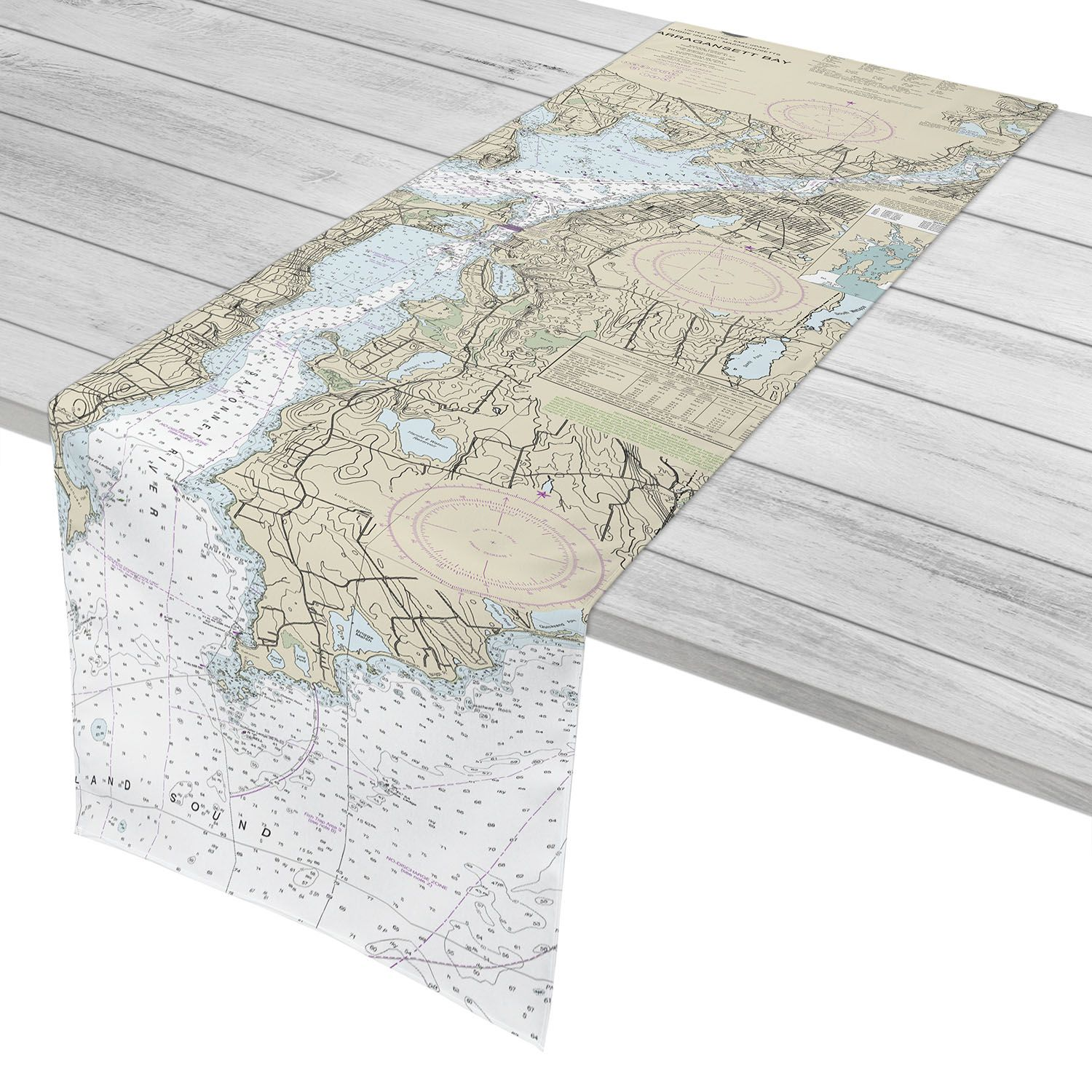 MA: Fall River, MA to Little Compton, RI Nautical Chart ...