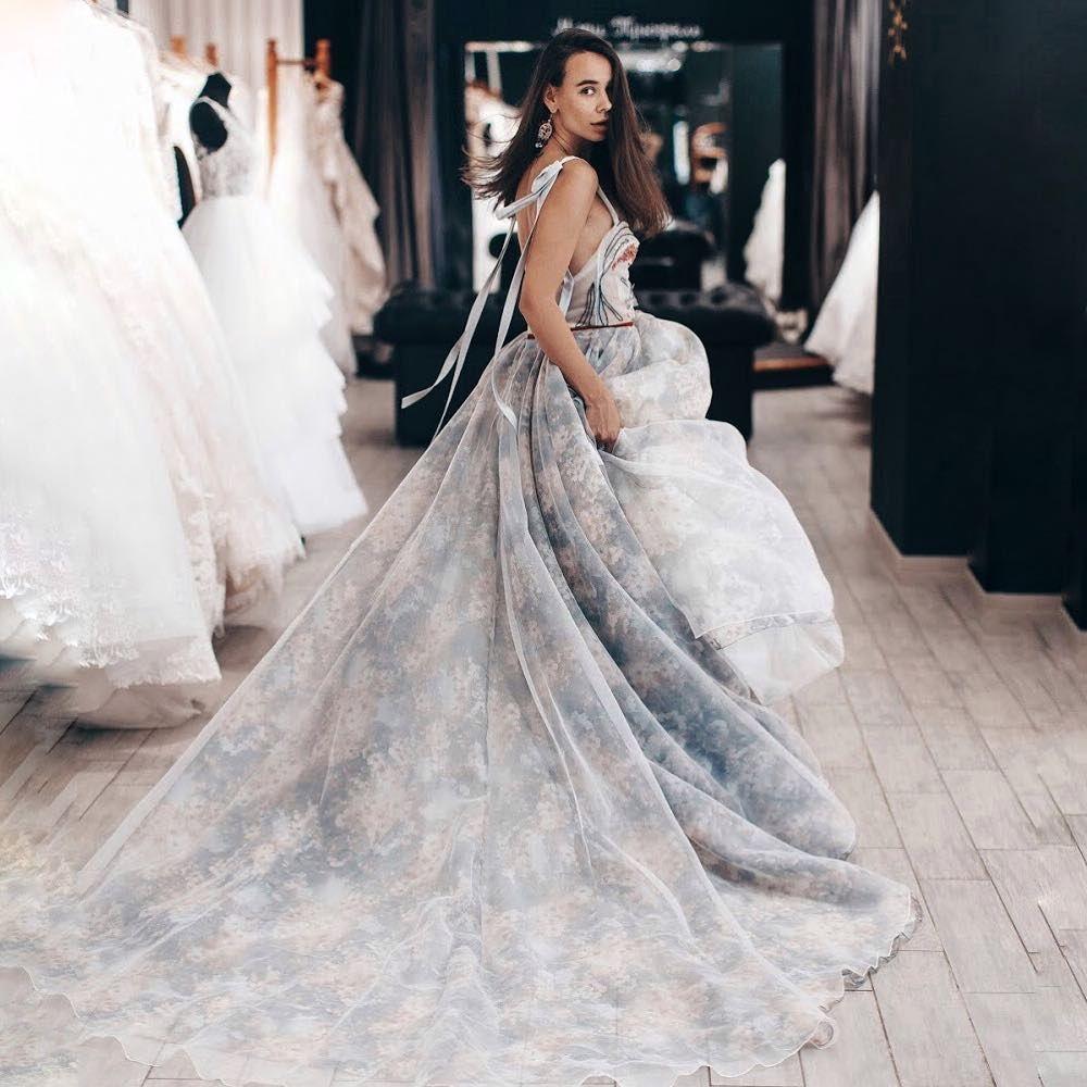 Marytrufelofficial blue wedding dresses in pinterest