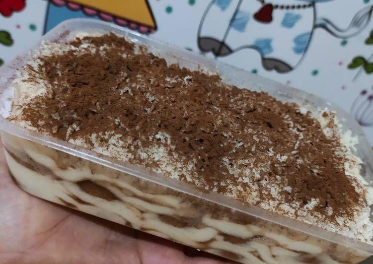 Tiramisu Dessert Box Ide Resep Setiap Hari Resep Di 2020 Hidangan Penutup Tiramisu Resep