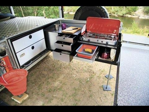 Drifta Offroad Tourer Camper Trailer Kitchen Adventure Vehicle