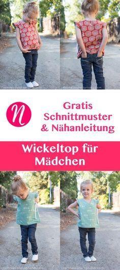 Wickeltop für Mädchen – Freebook