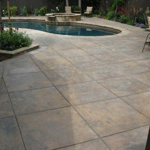 Incredible Stamped Concrete Vs Pavers For Modern Outdoor Design With Concrete  Vs Pavers Patio
