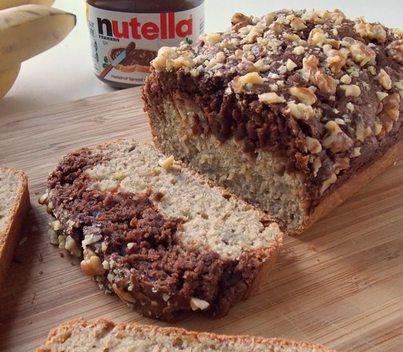 Nutella Banana Split Bread by Cleo Coyle