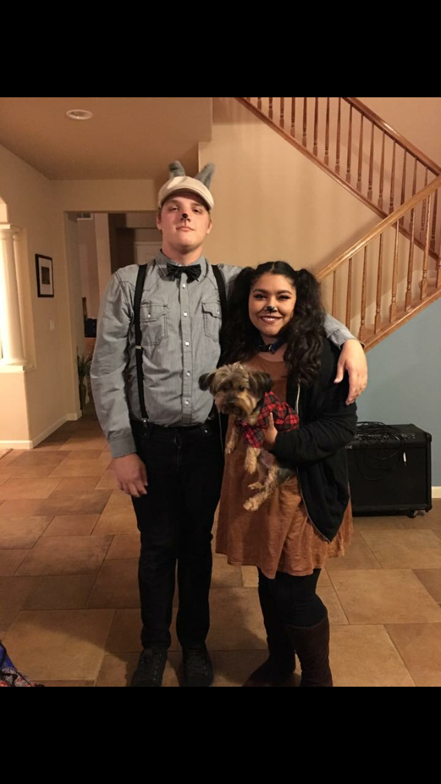 lady and the tramp halloween costume for couples