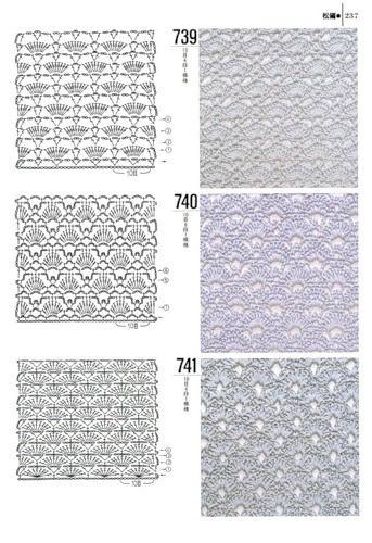 Doda Crochet Tantissimi Punti Uncinetto Con Schema Crochet Stitch