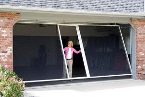 Breezy Living Screen Breezy Concepts Llc Garage Doors Garage Screen Door New Homes