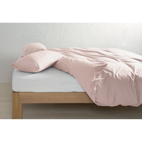 Kmart Nz Felicia Quilt Cover Set Pink Plain Duvet