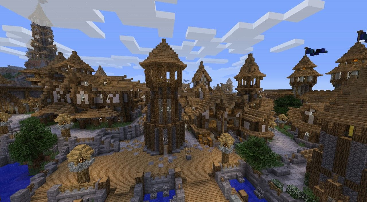 Kargeth  Medieval City    World Project  Minecraft Project