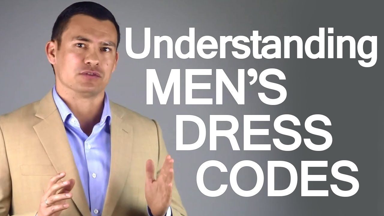 Un video semplice e chiaro per i dress code maschili. A simple and clear video about men dress codes.