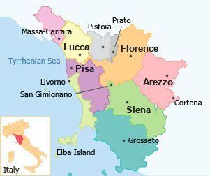 northern italy map of lucca Google Search Destinations
