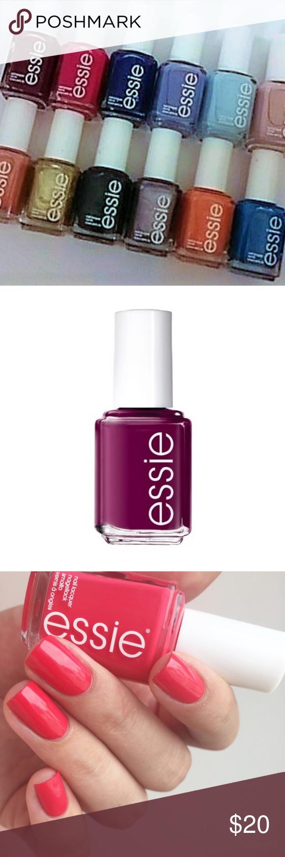 ESSIE Nail Polish NO REPEATS! NEW! NWT | Essie nail polish, Essie ...