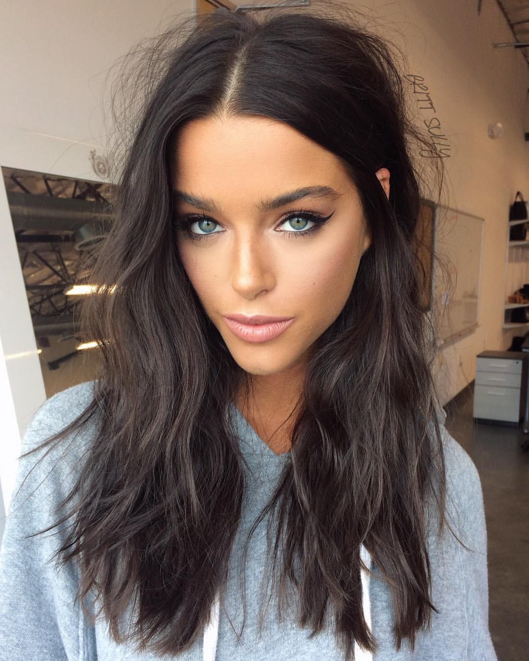 """Photo of Brittany Sullivan på Instagram: """"🌙✨ @_rubyking // 💫 #makeup #hair"""""""