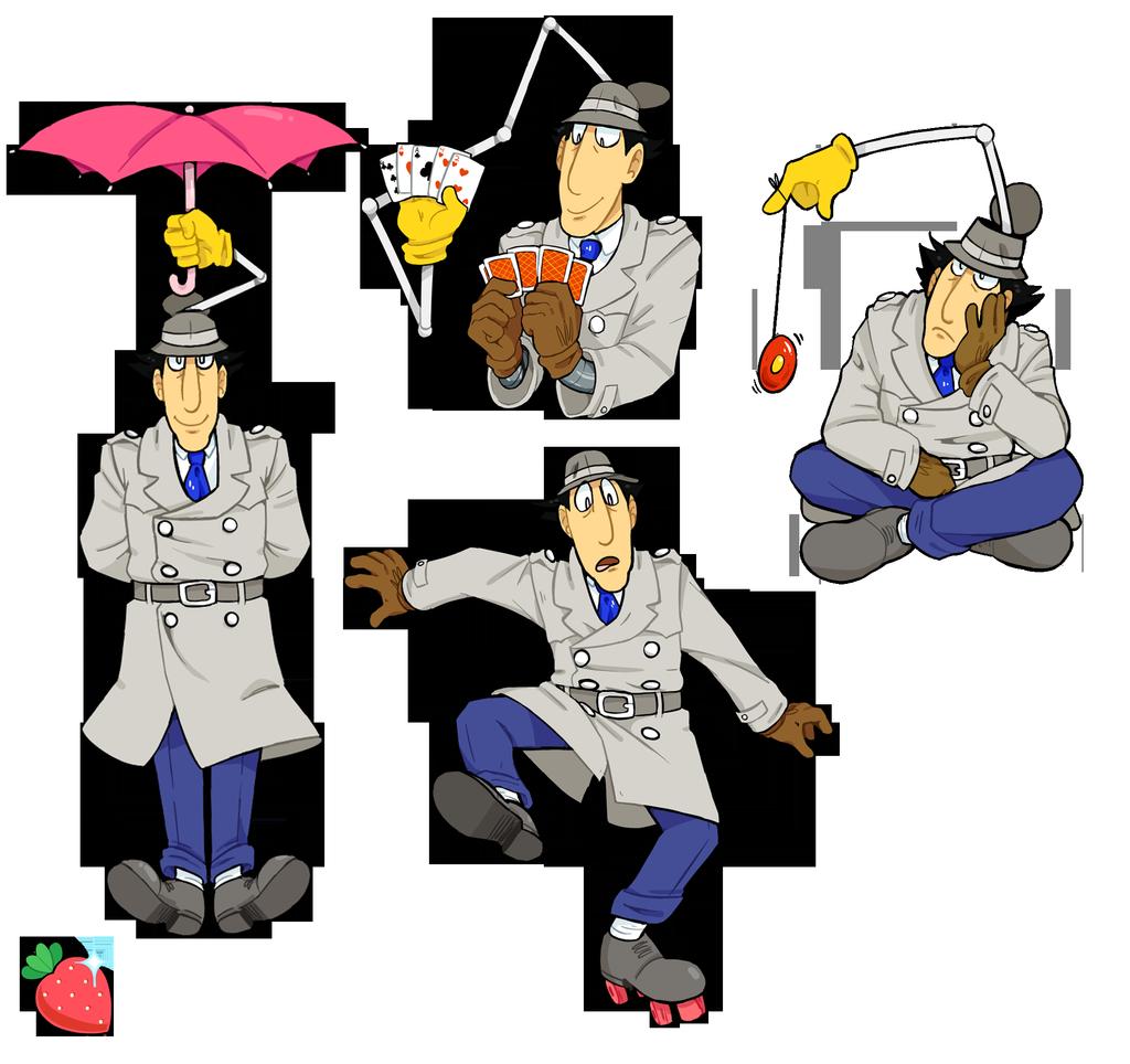 Gadgets By Strangesieuth On Deviantart 80s Cartoons Inspector Gadget Costume Favorite Cartoon Character