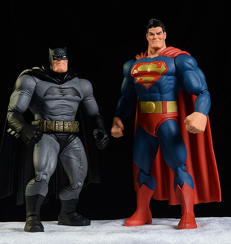 Dcd Dark Knight Returns Batman Superman Action Figures Superman