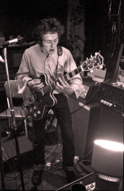 Joe Strummer, basement, 101 Walterton Road, London, 1975.(x)