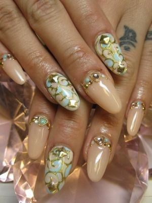 Japanese nail art- i would never do it, but it is AWSOME!