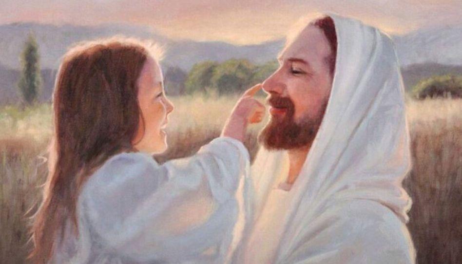 """In diesem Beitrag findest du vier sehr tiefgründige Beispiele von einer Begegnung mit Jesus, bei der Kinder seine Liebe am eigenen Leib erfahren konnten.  Photo Credit: """"Gentle Touch"""" by Karen Sharp Foster"""