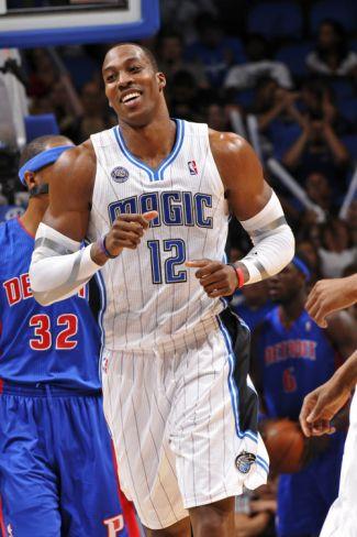 Detroit Pistons v Orlando Magic  Dwight HowardBy Fernando Medina ... 6cd16c27f