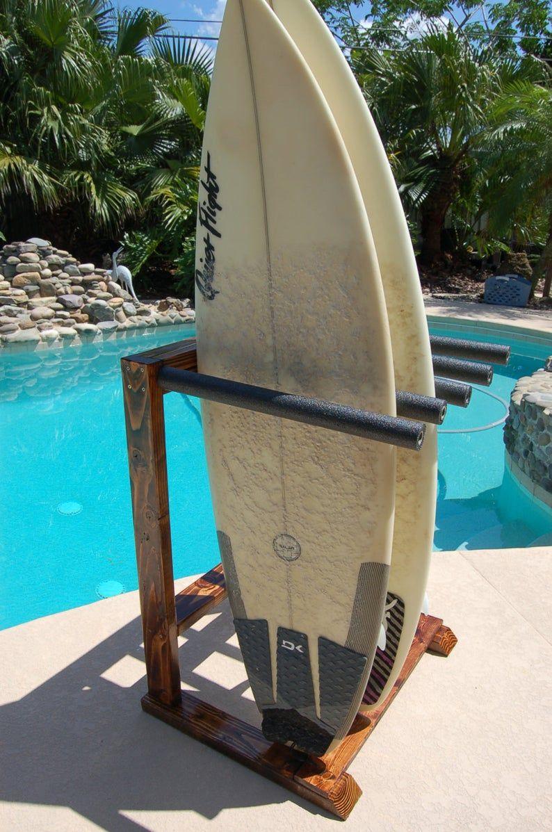 Boardwalk model vertical surfboard rack surfboard rack