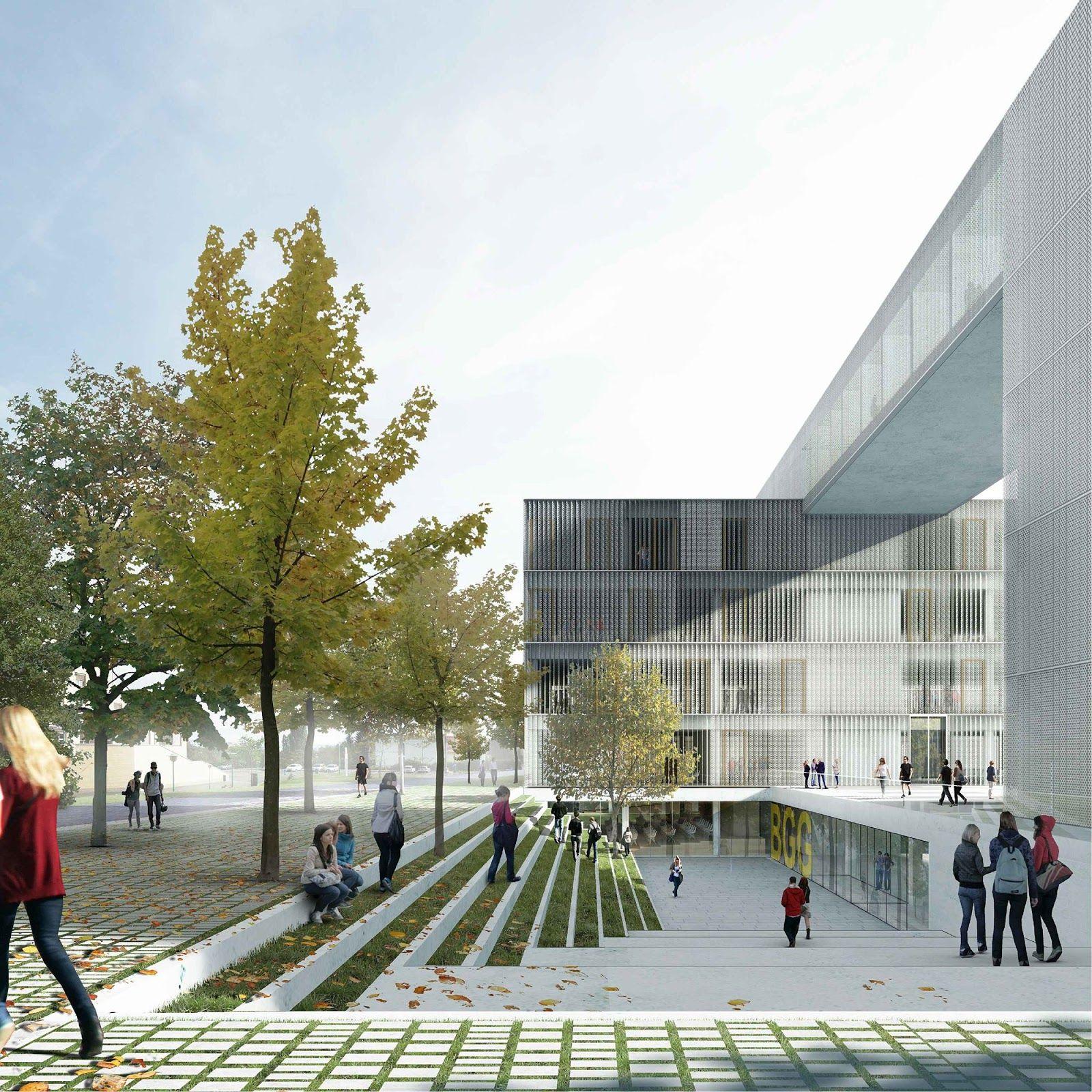 A F A S I A Bevk Perovic Landscape Architecture Design University Architecture Public Architecture
