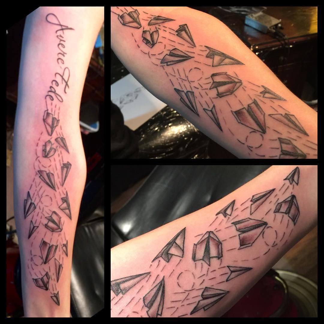 Fun tattoo I got to do today at the downtown Phoenix