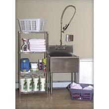 Heavy Gauge Stainless Steel Utility Laundry Room Sink Laundry room
