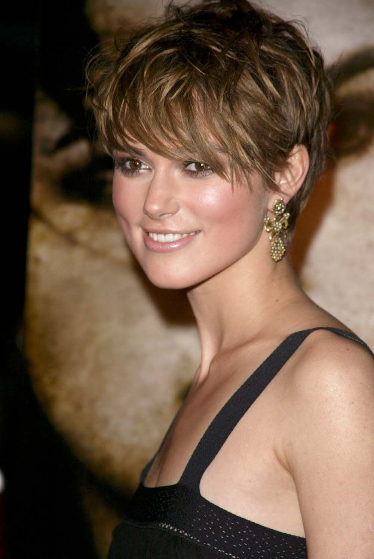 Beautiful Keira Knightleyu0027s Hair History   Keirau0027s Pixie Cut From InStyle.com